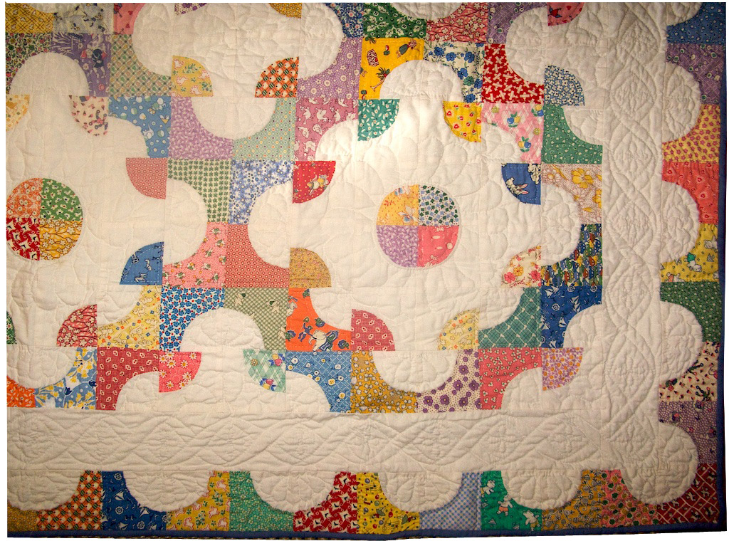 Oliver's Drunkard's Path Quilt – Q is for Quilter : drunkards path quilt images - Adamdwight.com