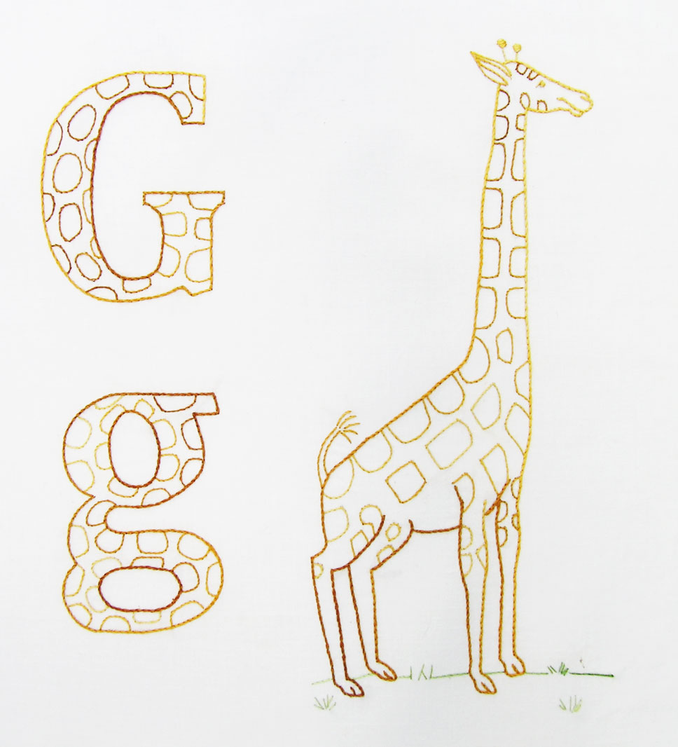 ABC-giraffe